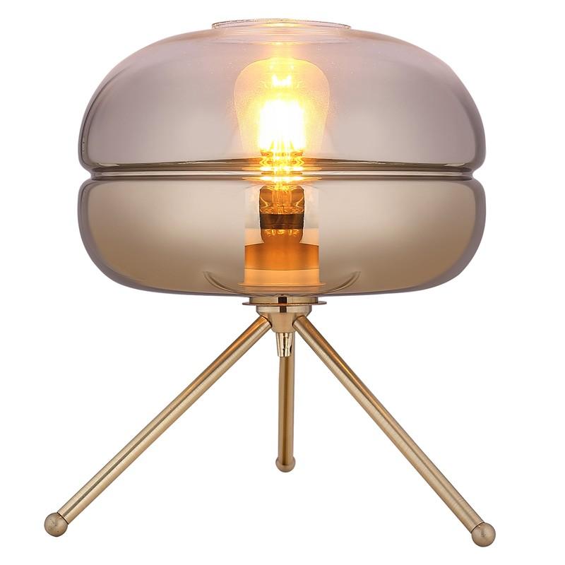 Lampe de table mod. Dabache Gradient Or D29 H 35