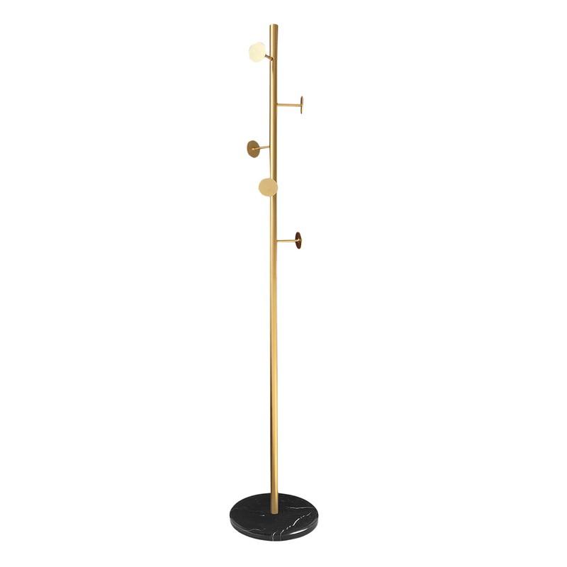 iron coat rack 30x30x170 cm